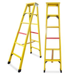 Fiberglass step ladder/ telescopic ladder fiberglass