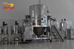 Gas Heating Fast Drying Small Spray Dryer For Dyestuff Fertilizer Pigment Carbohydrate