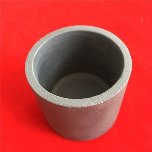 Heat resistant SISIC silicon carbide graphite crucibles for melting metal