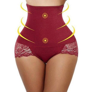 Hot Selling China Manufacture Plus Size Seamless Latest Women High Waist New Panties Design