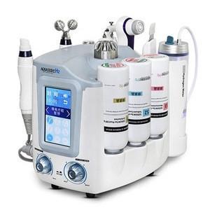Korea 6 In 1 Hydra Dermabrasion Aqua Peel Skin Cleaning Aquasure H2 Water Jet Facial Beauty Machine