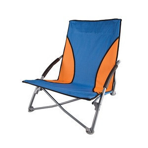LOW PROFILE SAND CHAIR - BLUE/ORANGE #G-11-50