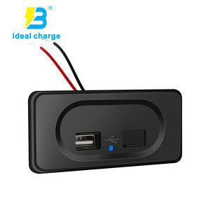 Marine/bus parts & accessories dual port 3.1A usb charger for bus seat