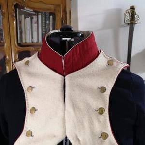 Napoleon's Grenadiers a Pied Uniform French Empire Jacket 1806 Model Military Uniform
