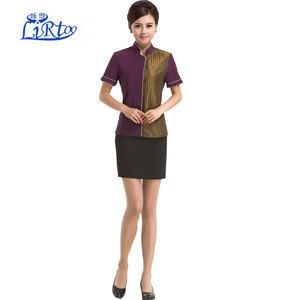 New design elegent waiter and waitress uniforms