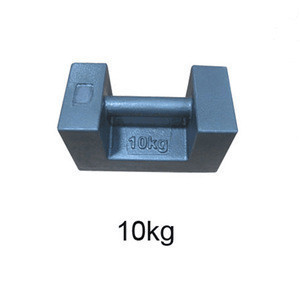 OIML standard stackable 20kg test weights, 20kg cast iron weights for crane