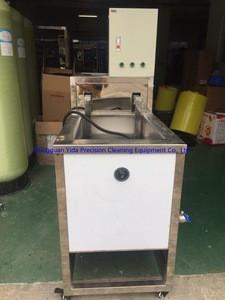Optic glass/hardware 1 tank ultrasonic cleaning machine