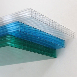 Polycarbonate sheet cheap price factory sun room best seller sunrooms polycarbonate hollow sheet