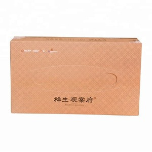 Promotional cheap small Paper Box Packing Facial Tissue