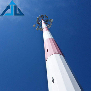 Promotional high density telecommunication transmission steel towers for power distribution