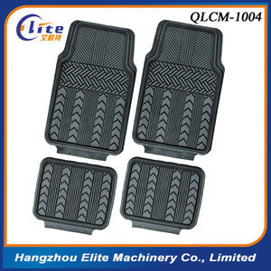 QLCM-1004 Full Set Non-slip PVC Car Mat Car Floor Mat