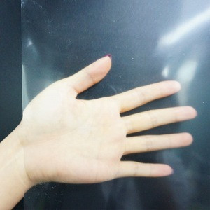 Self adhesive Transparent Thin Silicone Rubber Sheet
