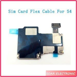 Sim Card Flex Cable Memory Holder Slot For samsung galaxy S4