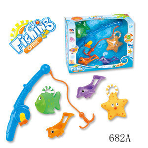 Summer Play Toy Plastic Fishing Game Toy
