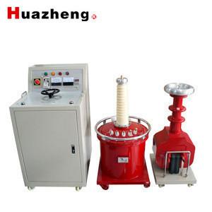 Ultra light high voltage SF6 gas test transformer