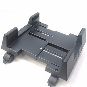 Underdesk plastic computer and accessories Cpu Computer cart