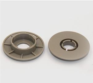 Universal 3D plastic clips for car floor mat