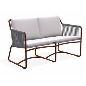 Urban european style outdoor furniture 3 seater rope sofa set designs garden sofa set