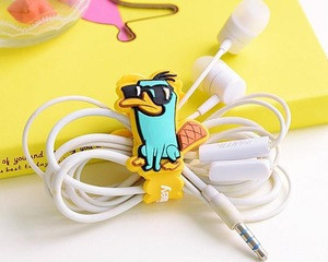 Wholesale headphones cable winder with logo