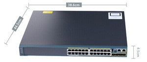 - WS-C2960S-24PS-L Optional Support for Gigabit uplink - Switch