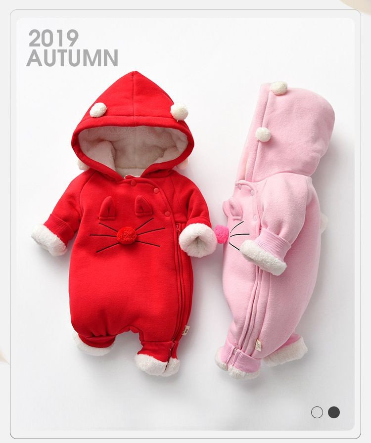 2019 new autumn and winter children's cotton coat