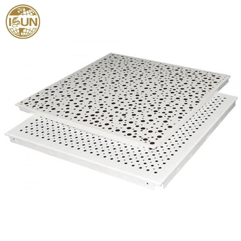 Aluminum clip in ceiling tiles