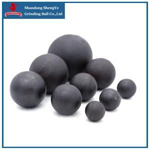 Hot rolling unbreakable forged steel grinding media ball