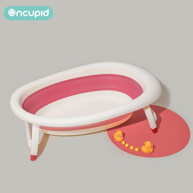 Folding Baby Infant Bathtub Large Foldable Bathtub for Newborn Babies Shower