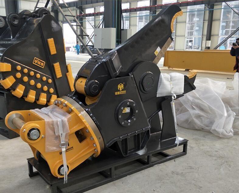 hydraulic excavator rebar cutter shear
