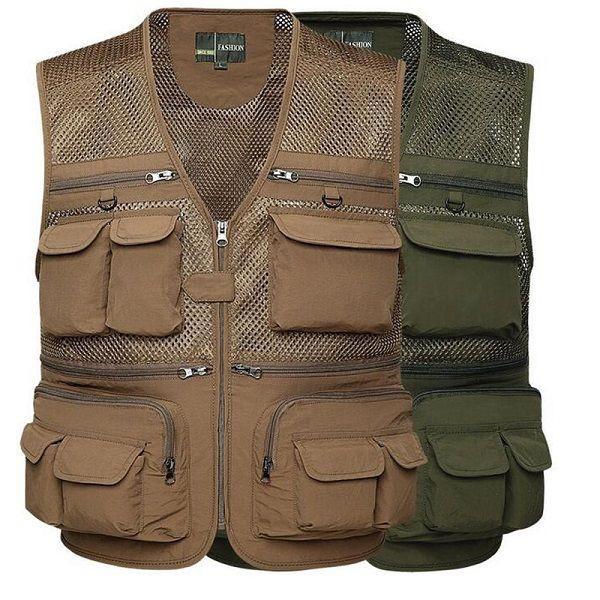 Safety Vest, Hunting Vest, Fishing Safety Vest