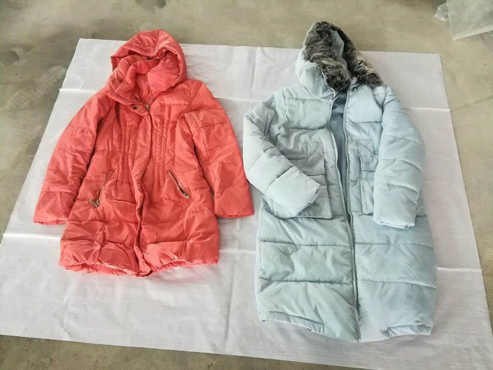 Used winter clothing