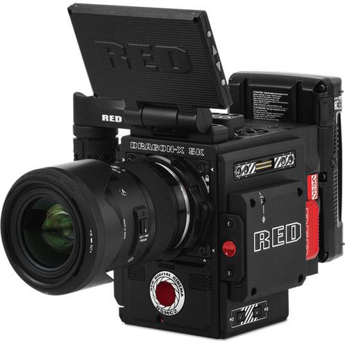NEW RED DIGITAL CINEMA Dragon-X 5K S35 DSMC2 Dragon-X