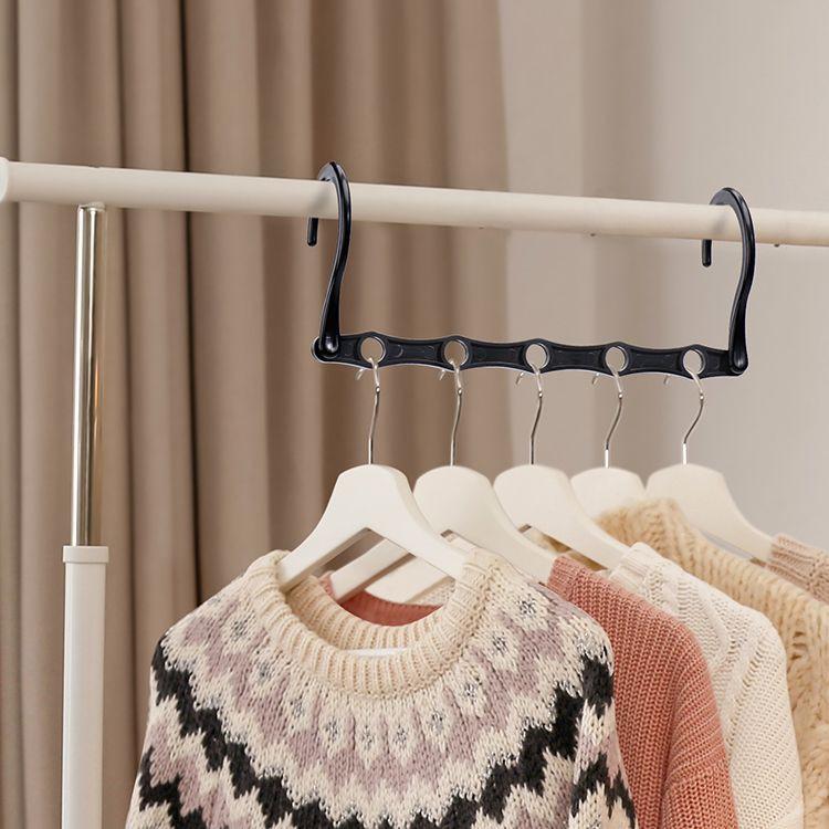 Avisday Durable Magic Plastic Hangers Wholesale clothes hanger Multifunction magic hangers