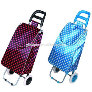 2015 Waterproof Trolley Luggage with Wheels,folding shopping cart