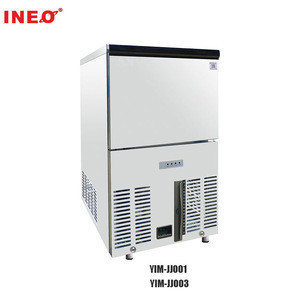 220V Commercial Ice Maker 325W Stainless Steel Ice Cube Making Machine