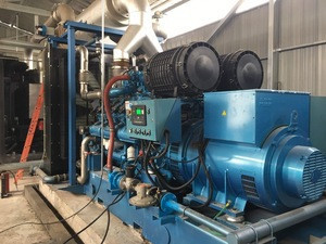 5mw power plant combined with 500kw CHP gas generator or 500kw natural gas generator