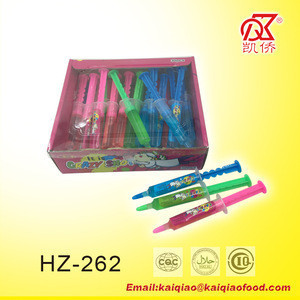 8g Syringe Shape Liquid Candy