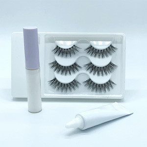 Best selling strip lash glue eyelash adhesive Korea eyelash glue with fast drying White color Quick dry