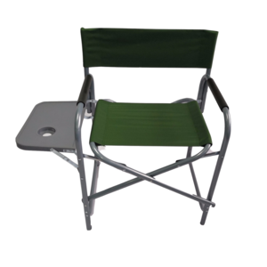 Cheap Metal Stainless Steel Canvas Kids Folding Garden Fishing Director Chair With Side Table Cup Holder For Child Outdoor