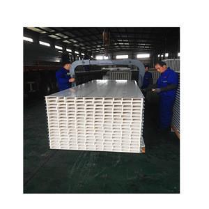 China cheap price mgo hollow core wall panel clean room mgo eps sandwich panel mgo sip panel