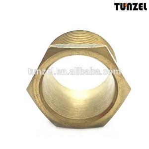 China suppliers BS conduit fittings male brass bush, flanged brass bushing