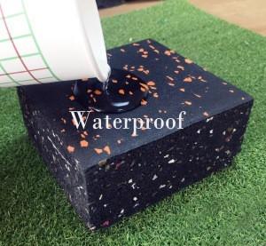 Competitive outdoor indoor Rubber Floor Mat dismountable Rubber Flooring for weightlifting