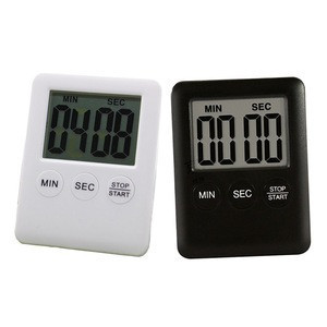 Digital Kitchen Cooking Timer Slim Kitchen Countdown Timer with Magnetic Back Side and LCD Display