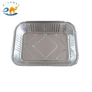 E-CAMEL Rectangular Aluminium Foil Container Used for Turkey and Pie pans