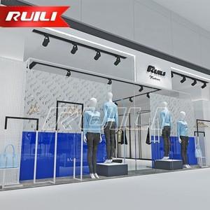 Fashion Garment Women Clothing Shop Decoration Store Furniture Clothes Display Showcase
