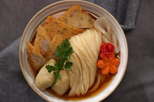 [Goraesa]Korea 100% Fresh and Healthy Fish Cake Glueten-free Udon Noodle