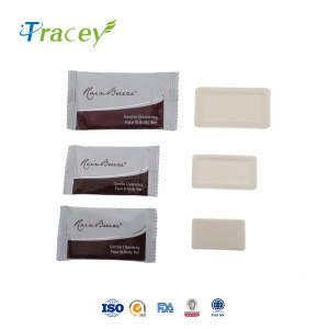 Hand soap sticker label logo round