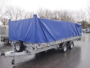 High Quality 18 oz Open Trailer Cover Waterproof Open Car Trailer Covers