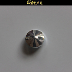 High Quality Cross Bore Crystal Shirt Button