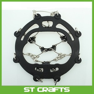 High quality new design ice snow crampon , export anti skid safe snow shoes spike